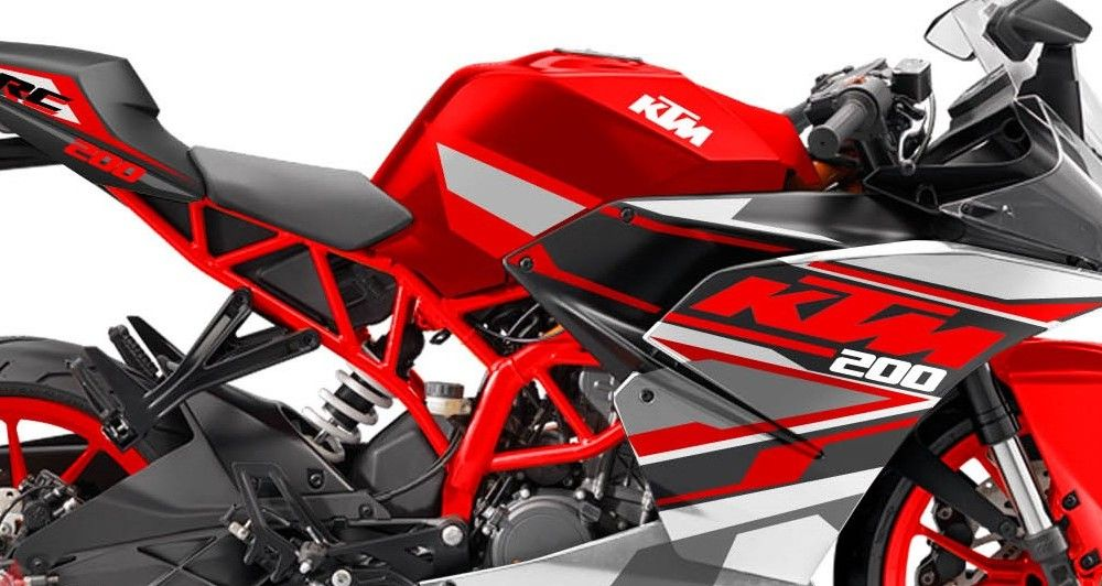 Ktm Rc 200 Red Spirit Edition By Motoblast Ktm Rc 200 Ktm Ktm Rc