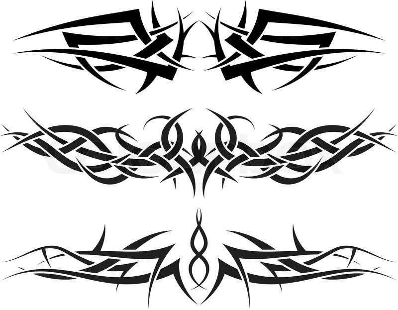 Vampire Tribal Tattoo Google Search Rose Tattoo Design Tribal Rose Tattoos Tribal Tattoos