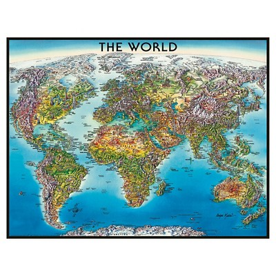 Ravensburger World Map Puzzle 2000 Pieces Products World Map