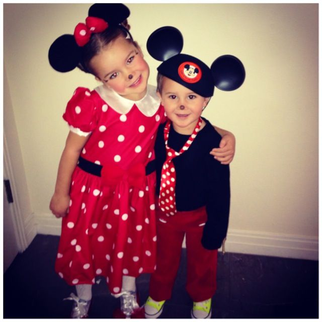 brother and sister halloween costume minnie mickey - Halloween Costume For Brothers