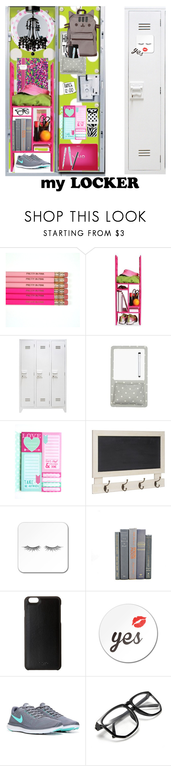 """MY LOCKER"" by beleev ❤ liked on Polyvore featuring interior, interiors, interior design, home, home decor, interior decorating, Pusheen, Knomo, BackToSchool and school"