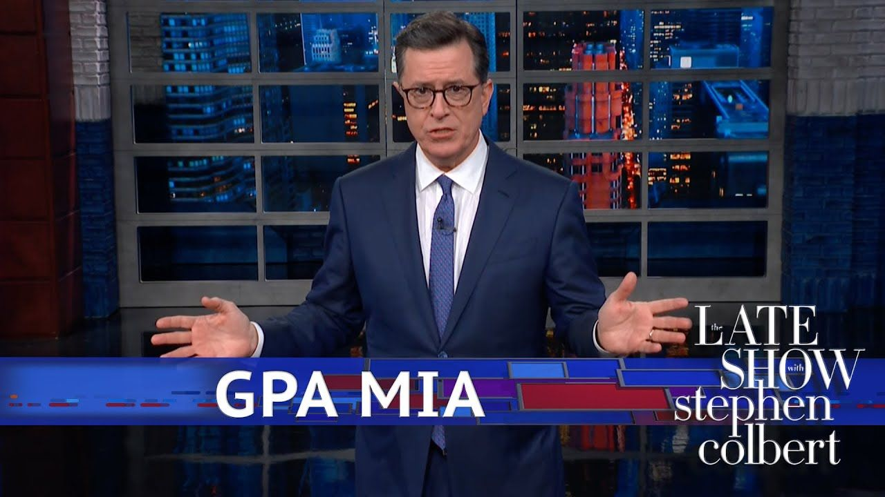 Trump Projected His Academic Shortcomings Onto Obama Youtube Trump Lol Stephen Colbert Cbs All Access Watch Full Episodes