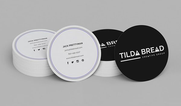 Tilda bread branding on behance circular business card designs tilda bread branding on behance circular business card designs colourmoves Choice Image