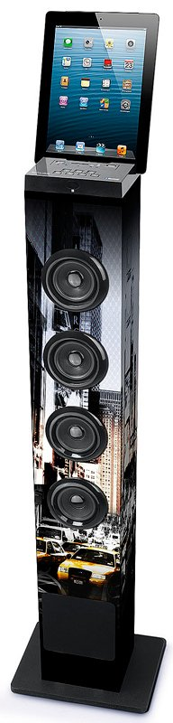 Muse Bluetooth towerspeaker met radio New York