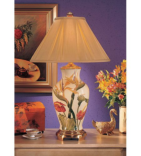 Wildwood Lamps Bird Of Paradise Table Lamp In Hand Painted Crackle Porcelain 5808 Table Lamp Lamp Master Bedroom Lamps