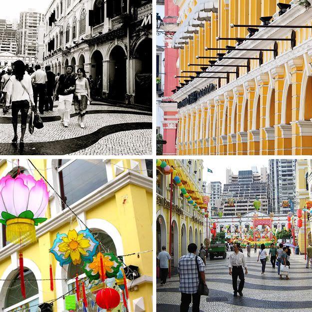 Amazing Hong Kong: Macau-Amazing Architectural Mix Of Portugese And Chinese