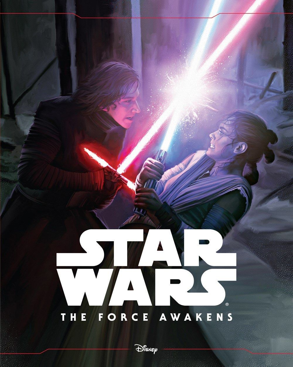 New Star Wars The Force Awakens Book Features Rey And Kylo Ren