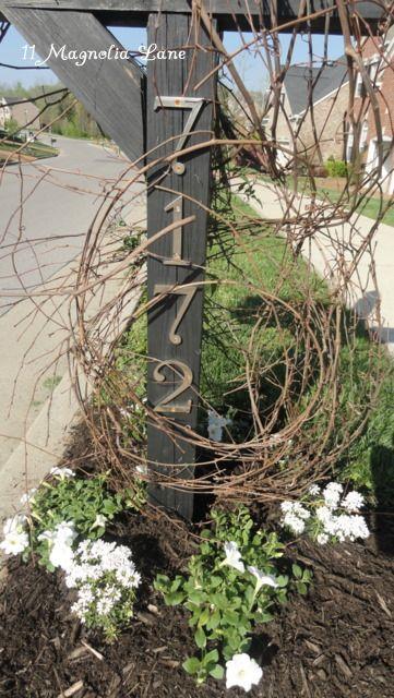 mailbox redo perennials & jasmine
