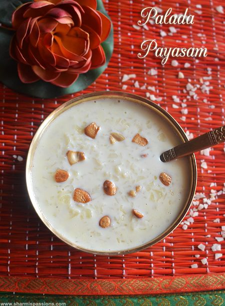 Palada Pradhaman Recipe How To Make Palada Payasam Recipe Sweet Recipes Desserts Recipes Food