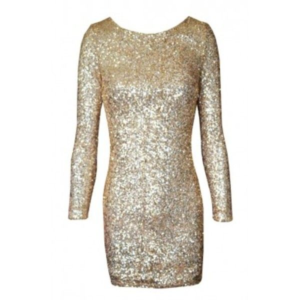 MacDuggal Twelve Long Sleeve Sequin Open Back Cocktail Dress 3485T ...
