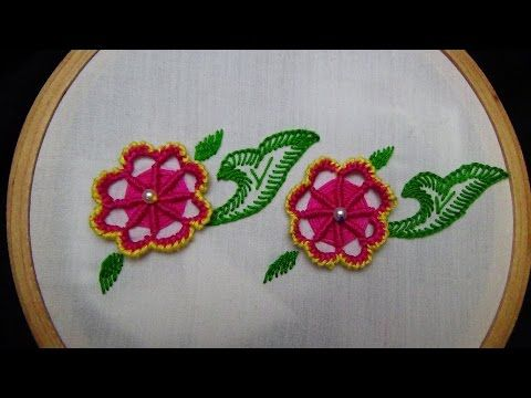 Hand Embroidery Stitches Tutorial Hand Embroidery Design Youtube