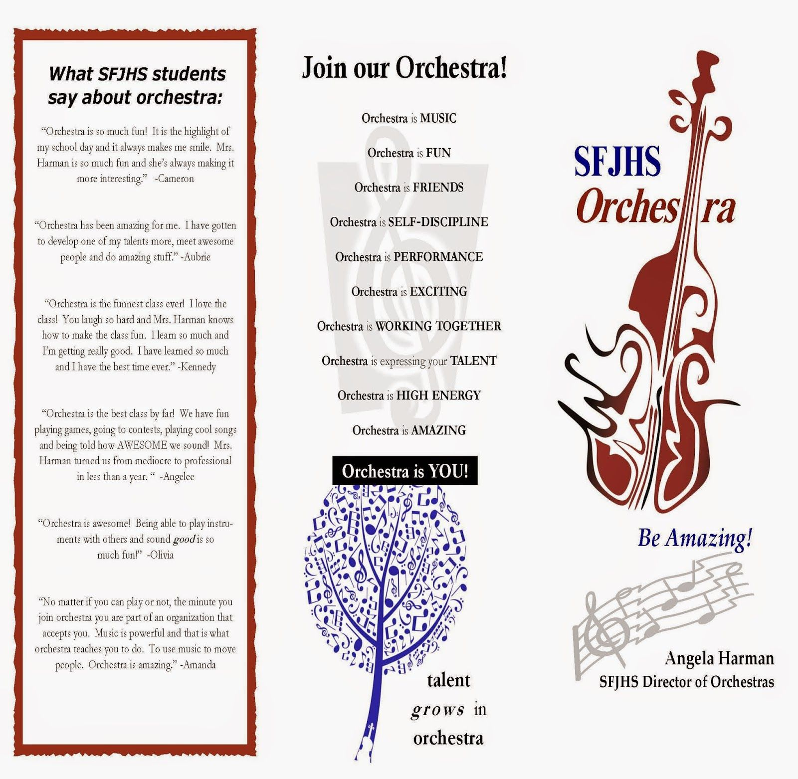 Orchestra Classroom Ideas March