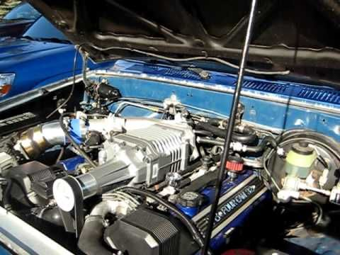 1UZ Hilux with M90 Supercharger | Trucks | Toyota, Toyota pickup for