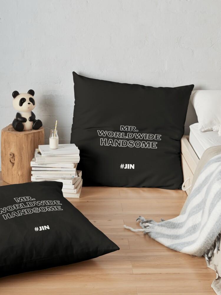 Mr Worldwide Handsome, Jin, BTS Jin Floor Pillow