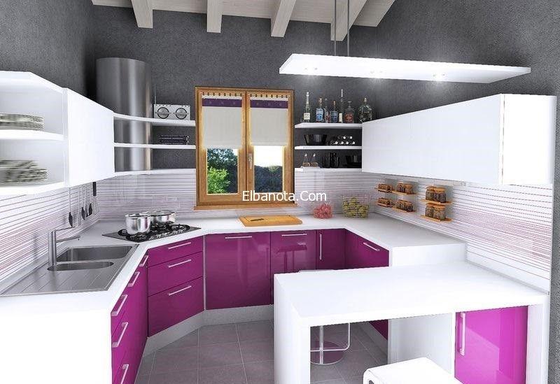 مطابخ امريكانى 2014 مطابخ امريكية مفتوحة صور مطابخ امريكانى حديثة احلى ديكورات بنوته كافيه Kitchen Cabinets Decor Kitchen