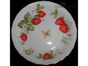 Rosina Queen Pin Virginia strawberry pattern