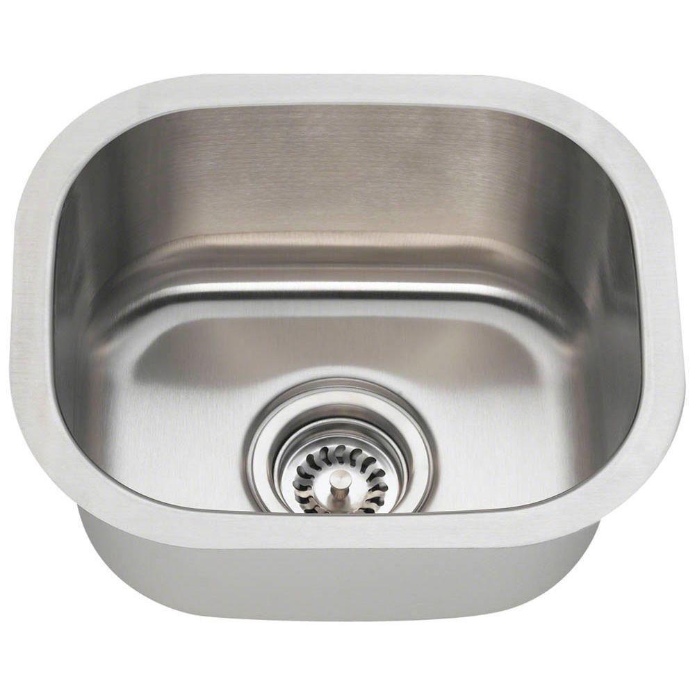 Elegant Small Stainless Steel Bar Sinks Undermount