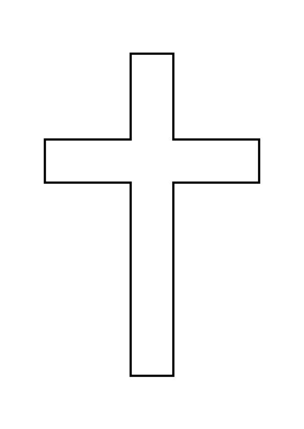 Free Printable Wooden Cross Coloring PagesKidsfreecoloring ...