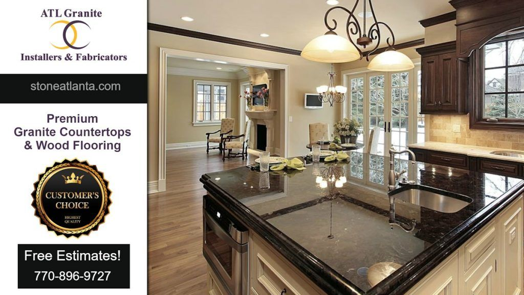 Stone Atlanta Granite Countertops. Elegant Premium Quality! ATL Granite  Installers Contractor Licensed U0026 Experienced