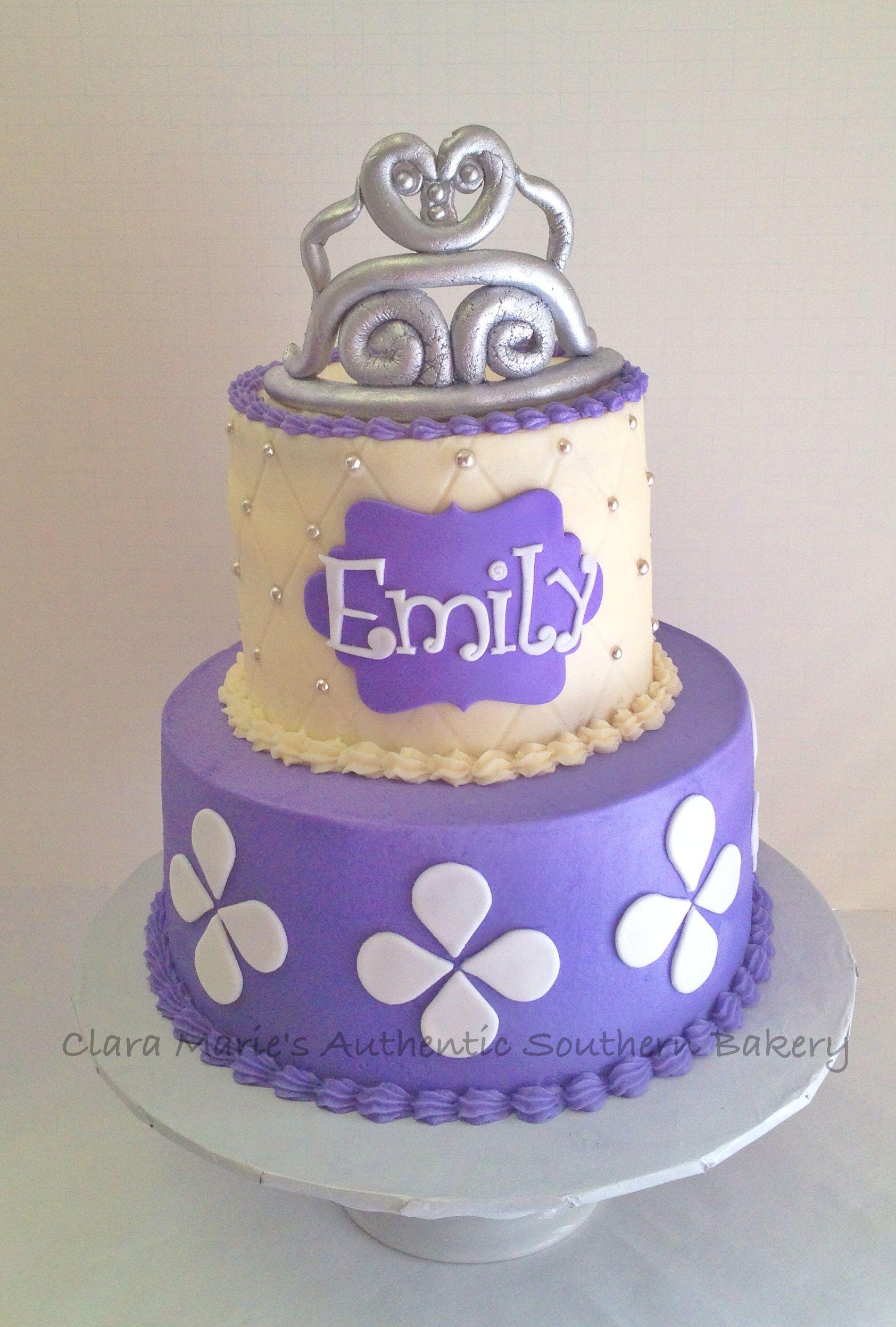 Princess Sofia Cake Clara Maries Bakery Pinterest Princess