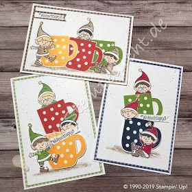Stempellicht: Weihnachtself um und in Weihnachtstasse von Stampin´Up! #stampinup!cards