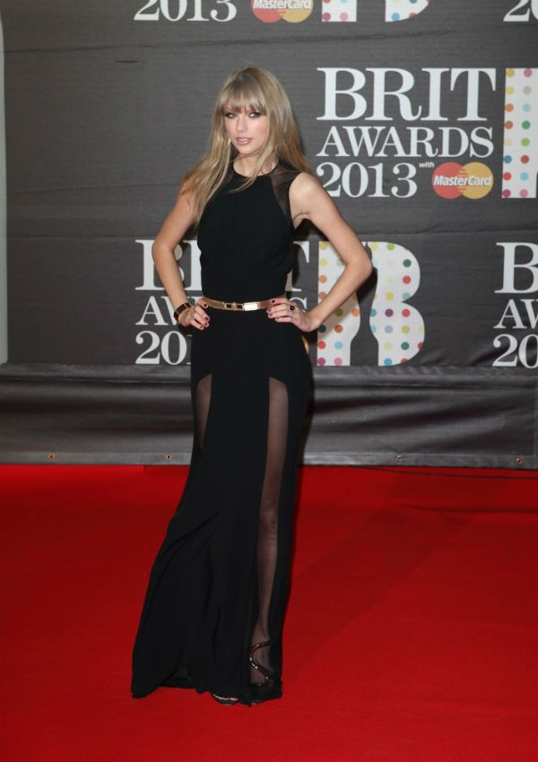 Arrivals at the Brit Awards 2013