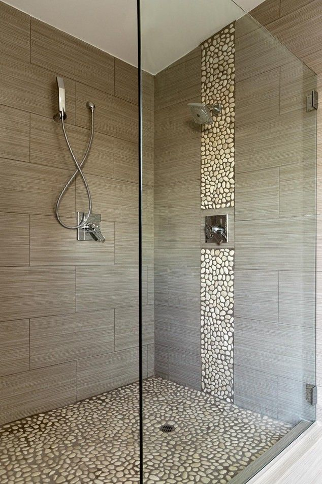 Decoration Tile Classy 15 Gorgeous Ideas How To Use Pebbles In Your Home Decoration Inspiration Design