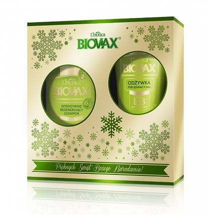 Zestaw świąteczny Biovax Bambus&Olej Avocado.