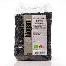 Biogan Sorte bønner Ø (1 kg)