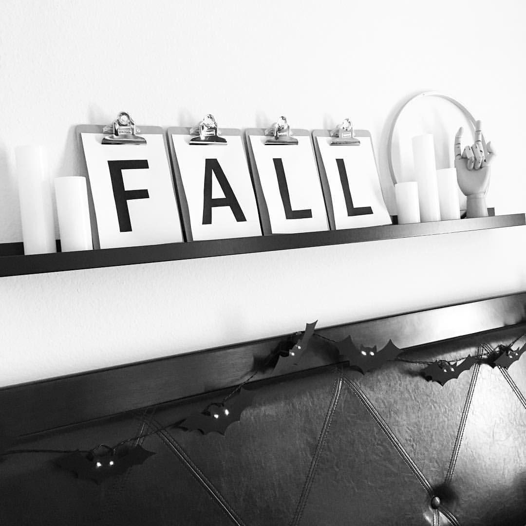 See this Instagram photo by @veezel \u2022 Halloween decor Halloween - black and white halloween decorations