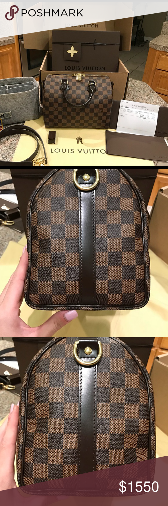 1a1534873ca Authentic Louis Vuitton Speedy Bandouliere 25 Authentic Louis Vuitton Speedy  Bandouliere 25 Comes with -box