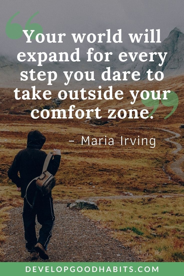 37 Comfort Zone Quotes to Motivate Yourself into Action