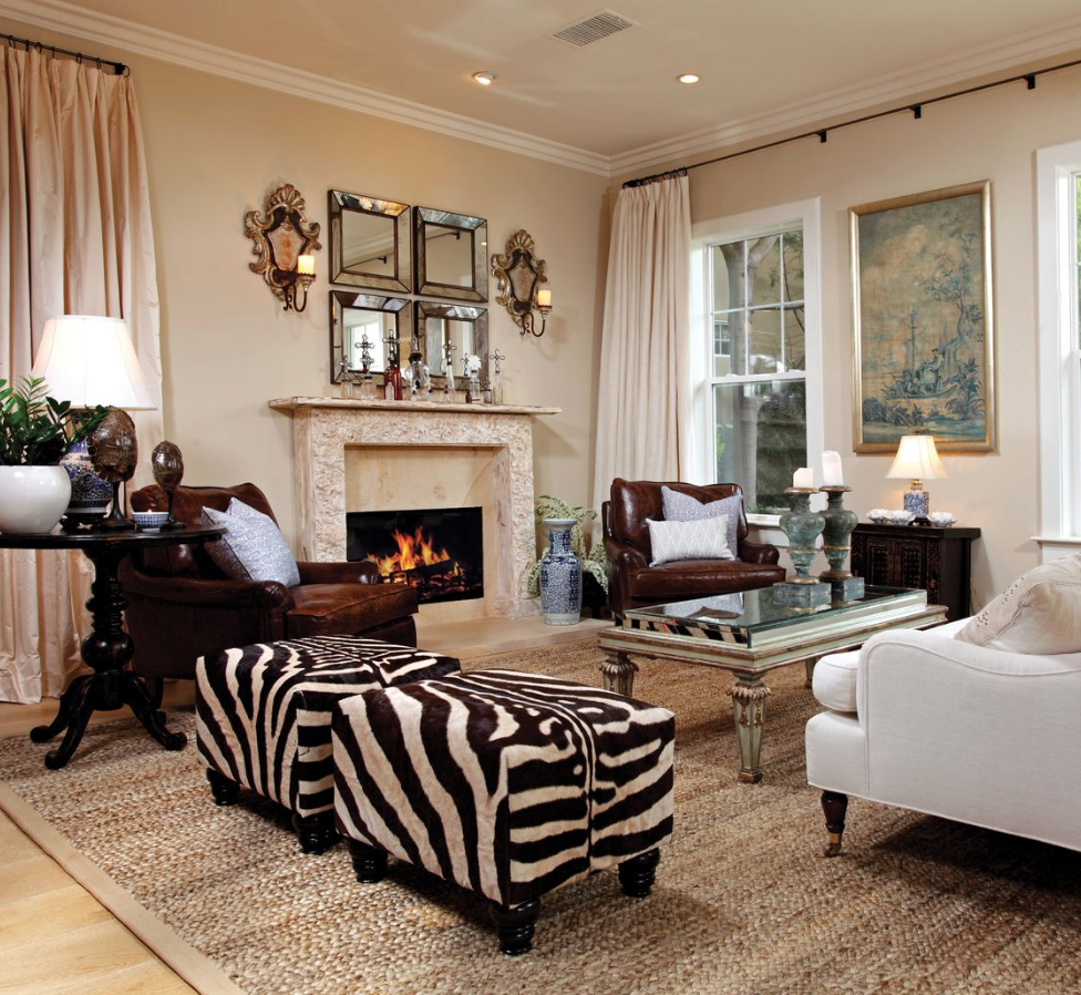 10+ Stunning Zebra Decor For Living Room