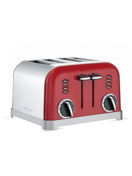 Metal Classic Toaster 4 Slice From Kitchen Appliances Up To 80 Off On Gilt Four Slice Toaster Toaster Red Kitchen Appliances