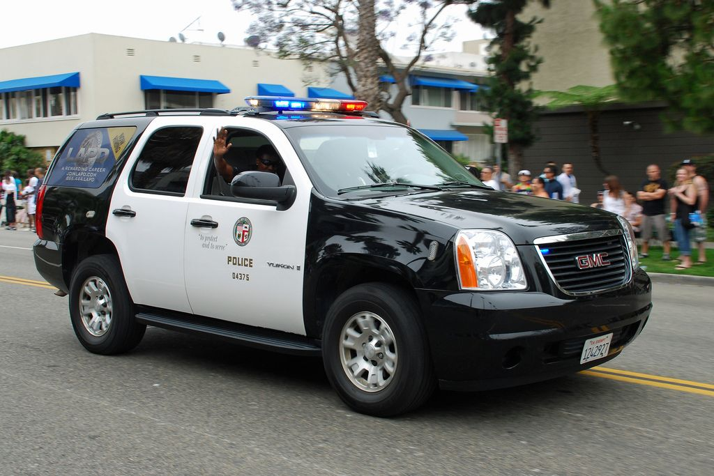 Lapd Yukon Los Angeles Police Department Police Cars