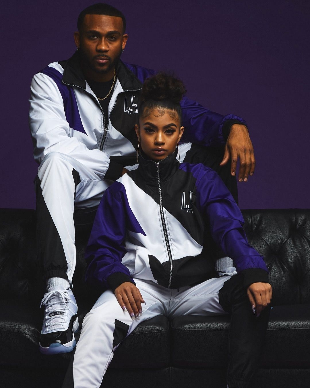 Did You Cop The Air Jordan 11 Concord This Morning Our Concord Retro Tracksuit Is Availab Black Couples Goals Cute Black Couples Couple Goals Relationships