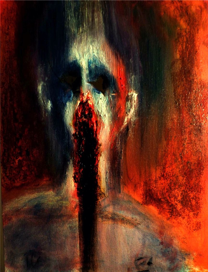 scary paintings