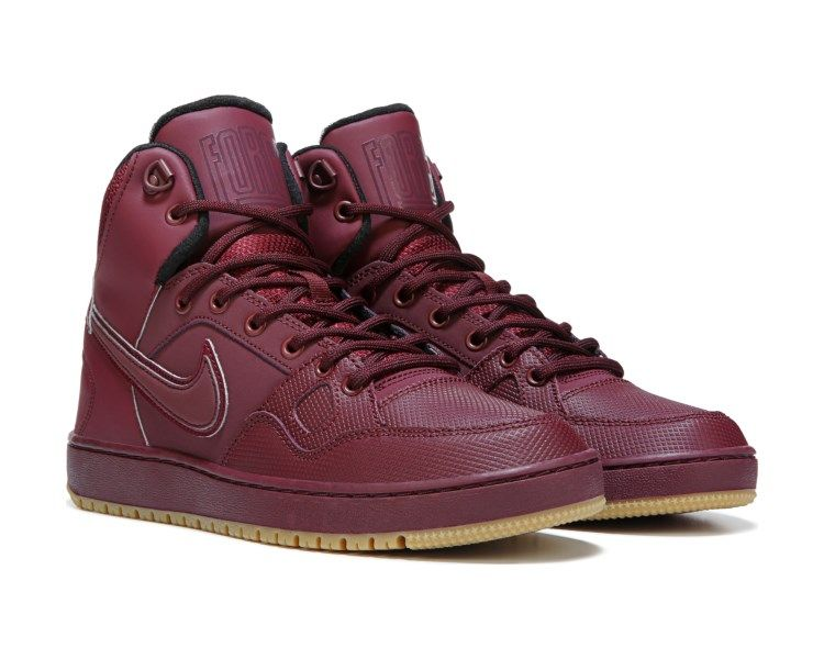 wholesale dealer 6ba9c ce9d1 Nike Son of Force Mid Winter - Night Maroon. Nike Son of Force Mid Winter -  Night Maroon Maroon Nike, Top Basketball Shoes,