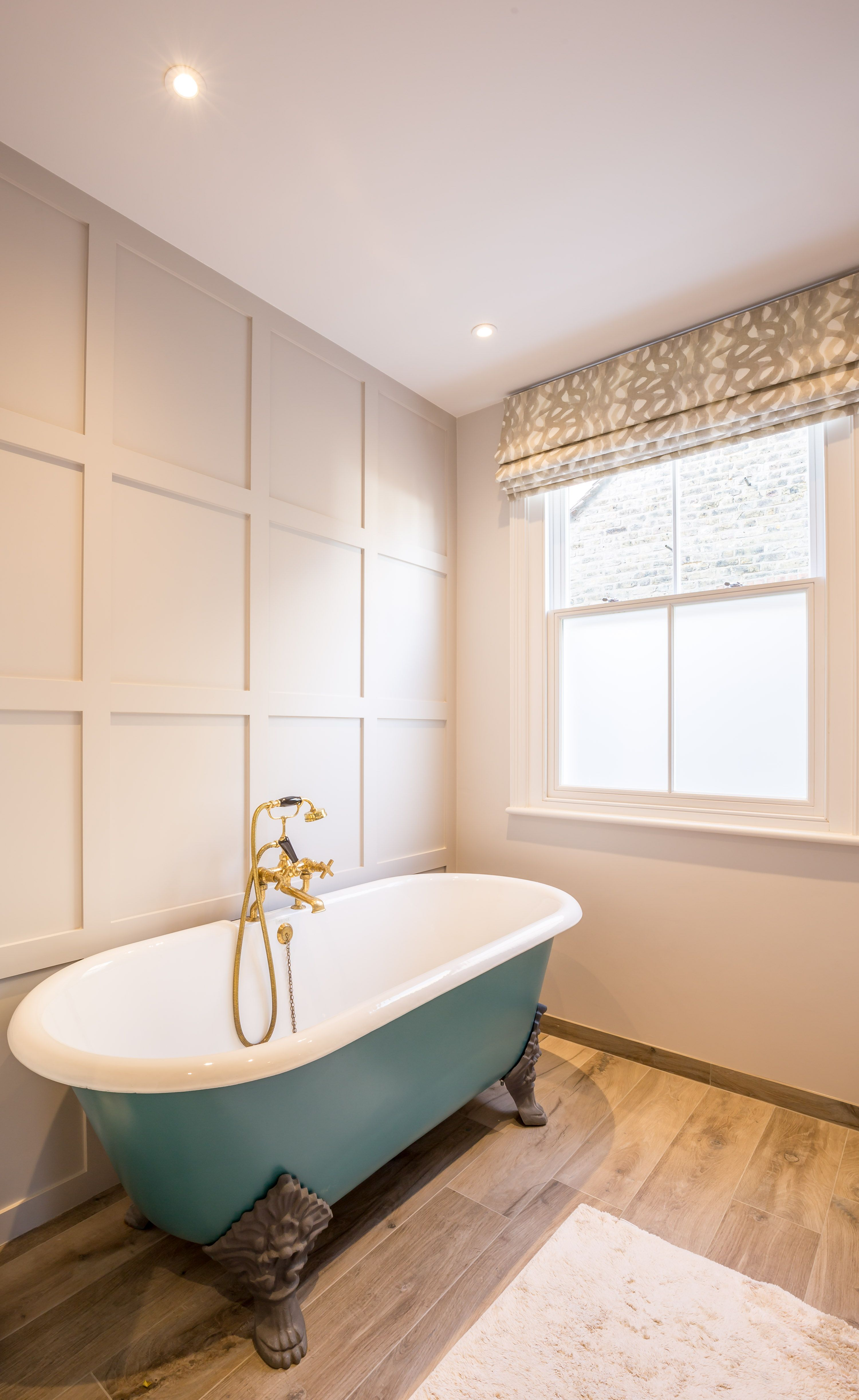 Ensuite Bathroom Without Window master bedroom ensuite | victorian property renovation | roll tub