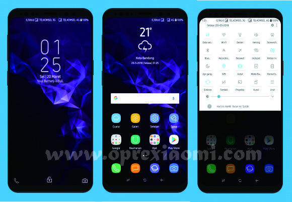 Xiaomi Theme Miui Pure SGS9+ Mtz New Update v1.4 Full Tema