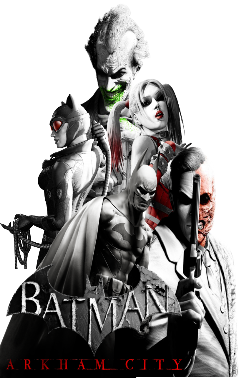 Batman Arkham City Poster By Alexander Springfledt Batman Arkham Batman Arkham City Batman Arkham Games
