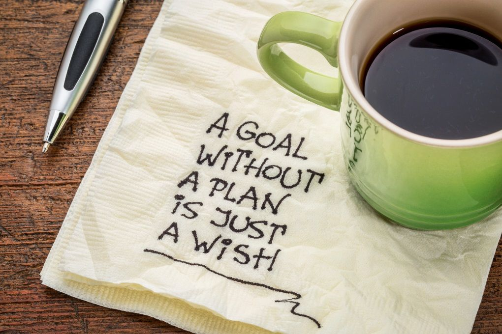 Pursue your goals