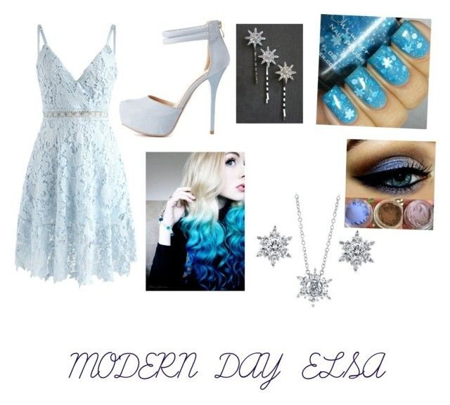 """""""Modern day Elsa"""" by bubblesisbae on Polyvore featuring Chicwish, Qupid, BERRICLE and modern"""