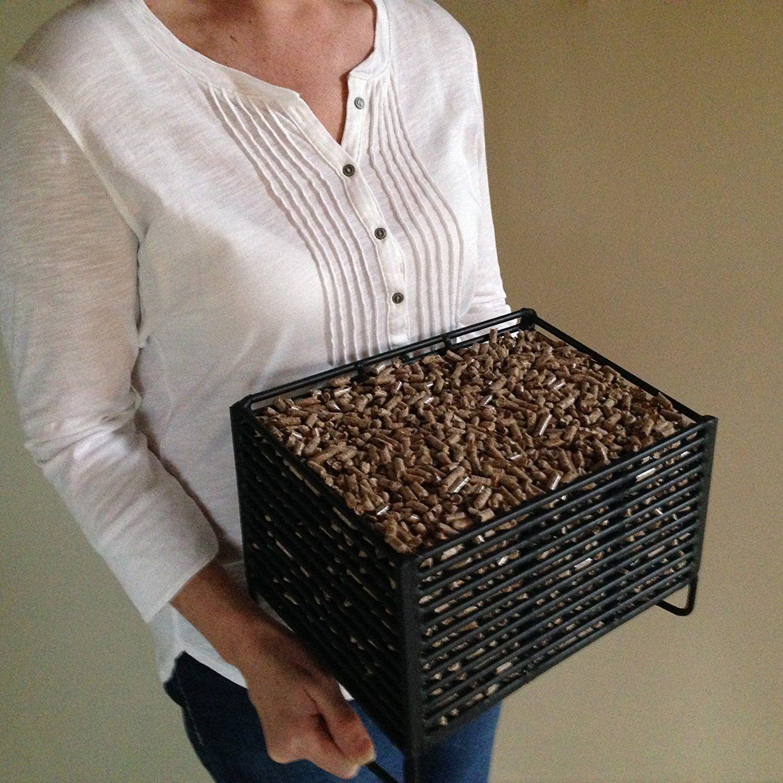 Wood Pellet Basket Heater, Alternative Heating Source ...