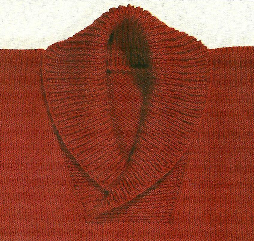 comment faire un col au tricot