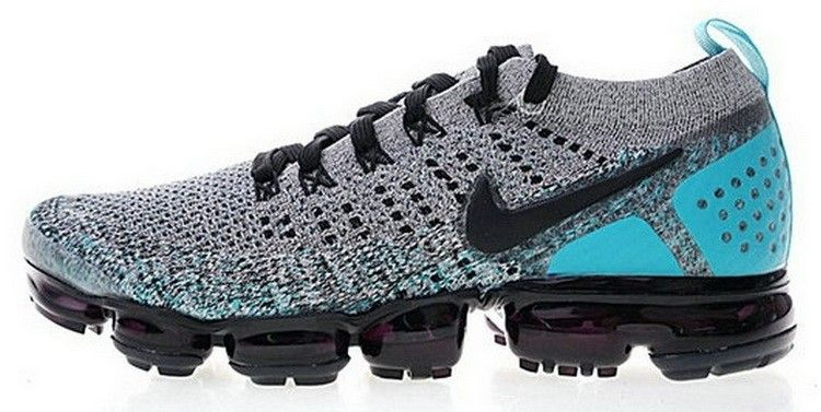 Nike Air VaporMax 2 0 Cool Grey Sky Blue Black 942842 104