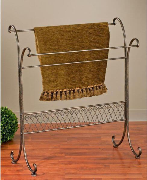 Free Standing Towel Racks Free Standing Towel Rack Towels And Display Custom Free Standing Quilt Display Rack