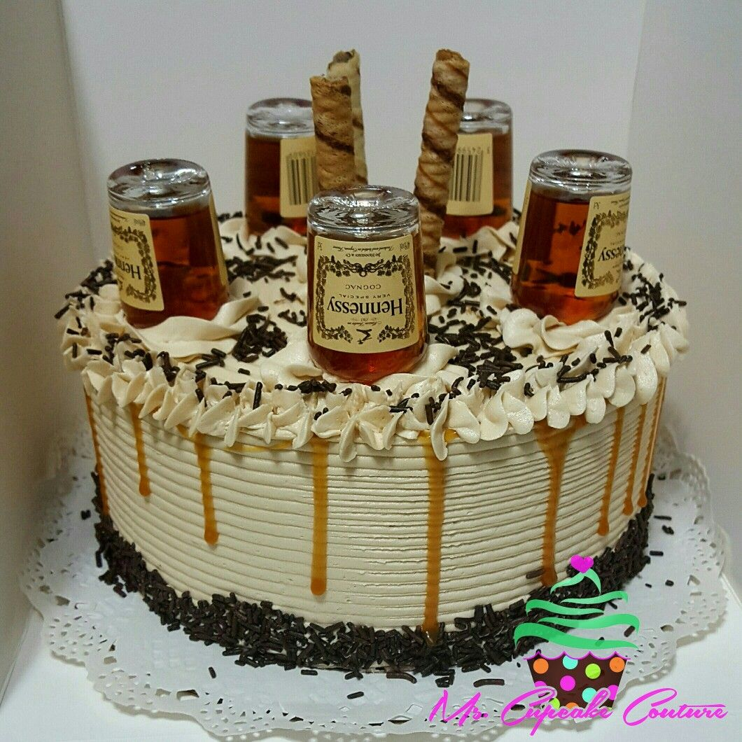 Liquor Bottle Cake Decorations Pinmscupcake Couture On Cakes  Pinterest  Cake Birthdays