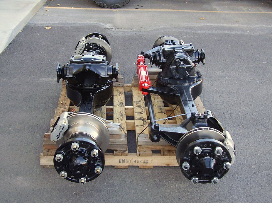 We Sell Used And Rebuilt Rockwell Axles That Fit The M Series 2 5