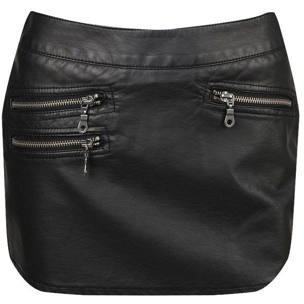 Faux leather with a skort?!?  Too cute!